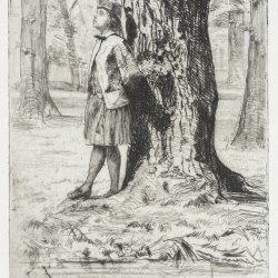 James-McNeil-Whistler-Seymour-Standing-Under-a-Tree