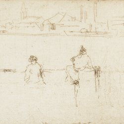 James-McNeil-Whistler-Sketch-on-the-Embankment