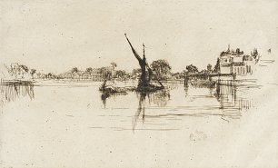James McNeil Whistler The Little Putney No 2