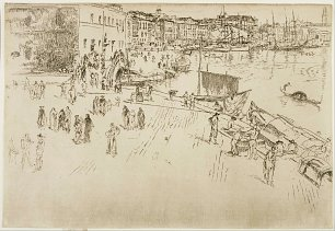 James McNeil Whistler The Riva No 1
