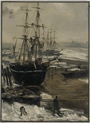 James McNeil Whistler The Thames in Ice