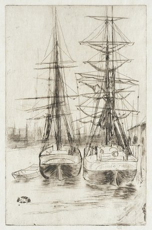 James McNeil Whistler Two Ships