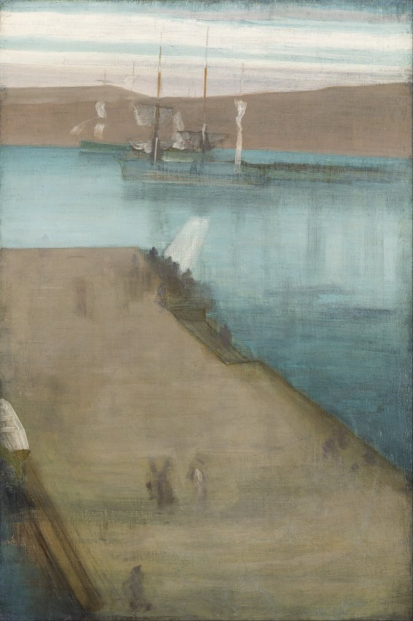 James McNeil Whistler Valparaiso Harbor