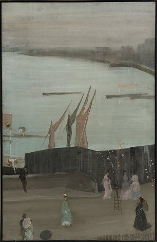 James McNeil Whistler Variations in Pink and Grey Chelsea Wandbild