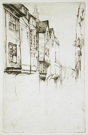 James McNeil Whistler Wych Street