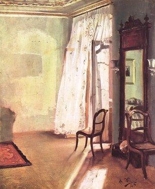 Adolph Menzel Balkonzimmer Wandbilder