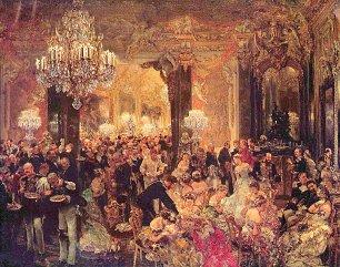 Adolph Menzel Ballsouper Wandbilder