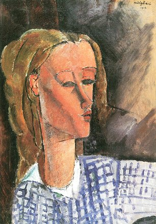 Amedeo Modigliani Bildnis Beatrice Hastings 3 Wandbild