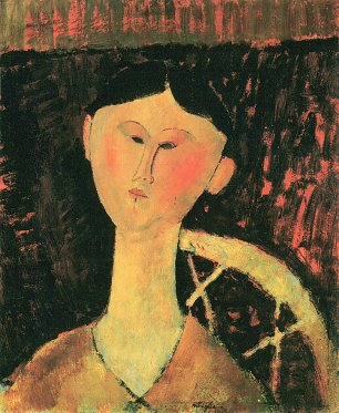 Amedeo Modigliani Bildnis Beatrice Hastings Wandbild