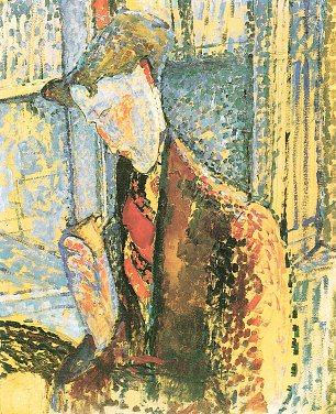Amedeo Modigliani Bildnis Frank Burty Haviland