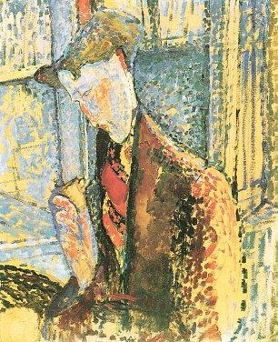 Amedeo Modigliani Bildnis Frank Burty Haviland Wandbilder