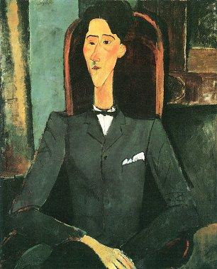 Amedeo Modigliani Bildnis Jean Cocteau Wandbilder