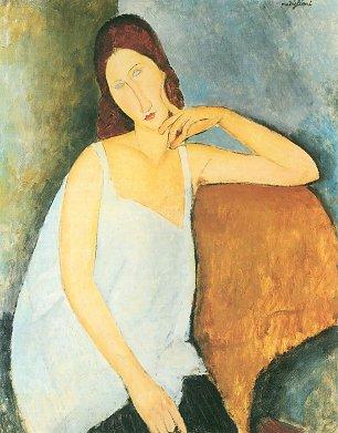 Amedeo Modigliani Bildnis Jeanne Hebuterne 2 Wandbilder