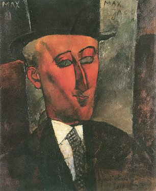 Amedeo Modigliani Bildnis Max Jacob