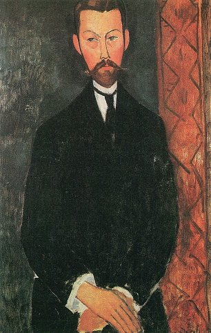 Amedeo Modigliani Bildnis Paul Alexandre