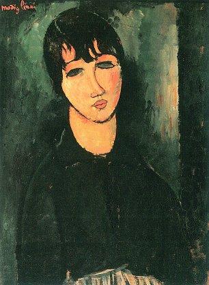 Amedeo Modigliani Das Dienstmaedchen Wandbilder