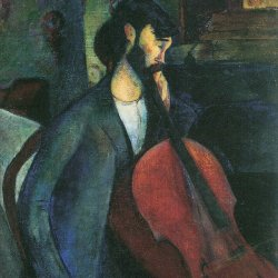 Amedeo-Modigliani-Der-Cellist