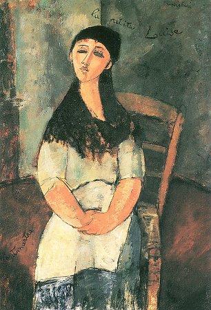 Amedeo Modigliani Die kleine Louise Wandbilder