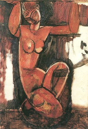 Amedeo Modigliani Kariatyde 2 Wandbilder