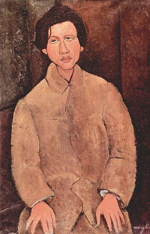 Amedeo Modigliani Portrait des Chaiim Soutine