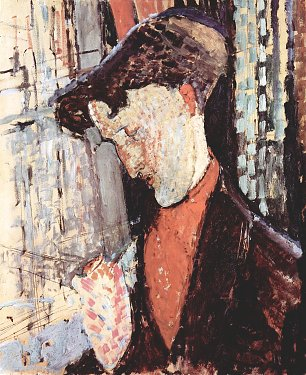 Amedeo Modigliani Portrait des Frank Burty Haviland Wandbild