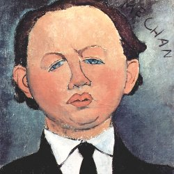 Amedeo-Modigliani-Portrait-des-Mechan