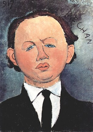 Amedeo Modigliani Portrait des Mechan