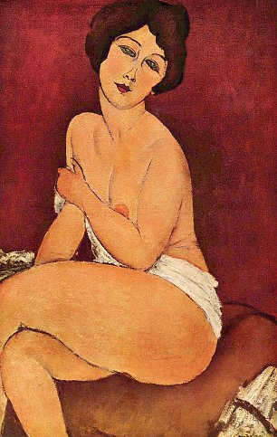 Amedeo Modigliani Weiblicher Akt