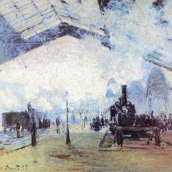 Claude-Monet-Bahnhof-Saint-Lazare-in-Paris