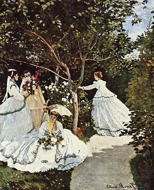 Claude Monet Frauen im Garten Wandbilder