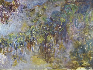 Claude Monet Glyzinen 2