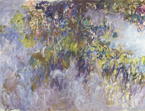 Claude Monet Glyzinen