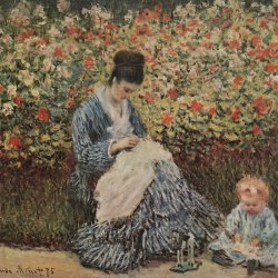 Claude-Monet-Madame-Monet-und-Kind
