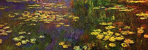 Claude Monet Nympheas Wandbild