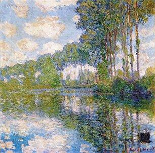 Claude Monet Pappeln an der Epte Wandbilder