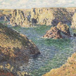 Claude-Monet-Port-Domois-Belle-Ille