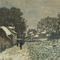 Claude-Monet-Schnee-in-Argenteuil