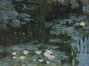 Claude Monet Seerosen 1