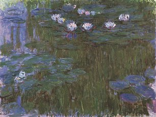Claude Monet Seerosen 3