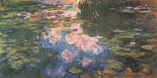 Claude Monet Seerosen 4