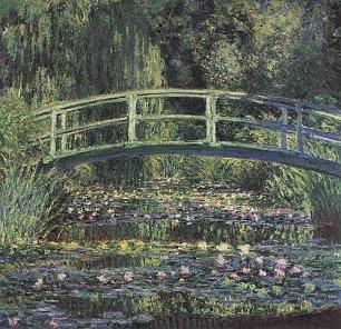 Claude Monet Seerosenteich 2 Wandbilder