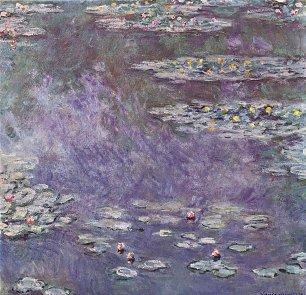 Claude Monet Seerosenteich 3 Wandbilder