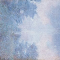 Claude-Monet-Seine-am-Morgen