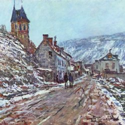 Claude-Monet-Strasse-nach-Vetheuil-im-Winter