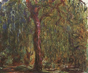 Claude Monet Trauerweide