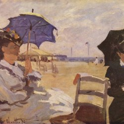 Claude-Monet-am-Strand-von-Trouville
