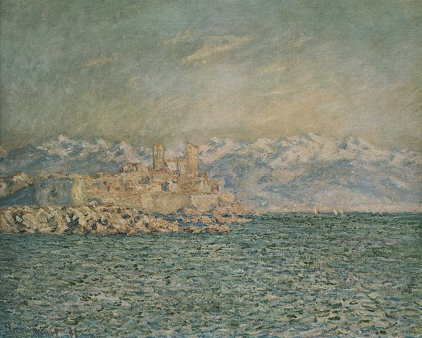Claude Monet das alte Fort in Antibes