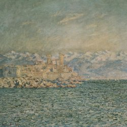 Claude-Monet-das-alte-Fort-in-Antibes