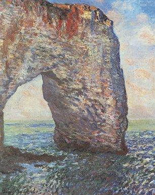 Claude Monet die Felsenklippen von Etretat La Manneporte Wandbilder