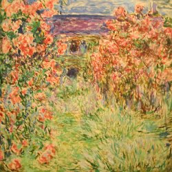 Claude-Monet_Das-Haus-in-den-Rosen